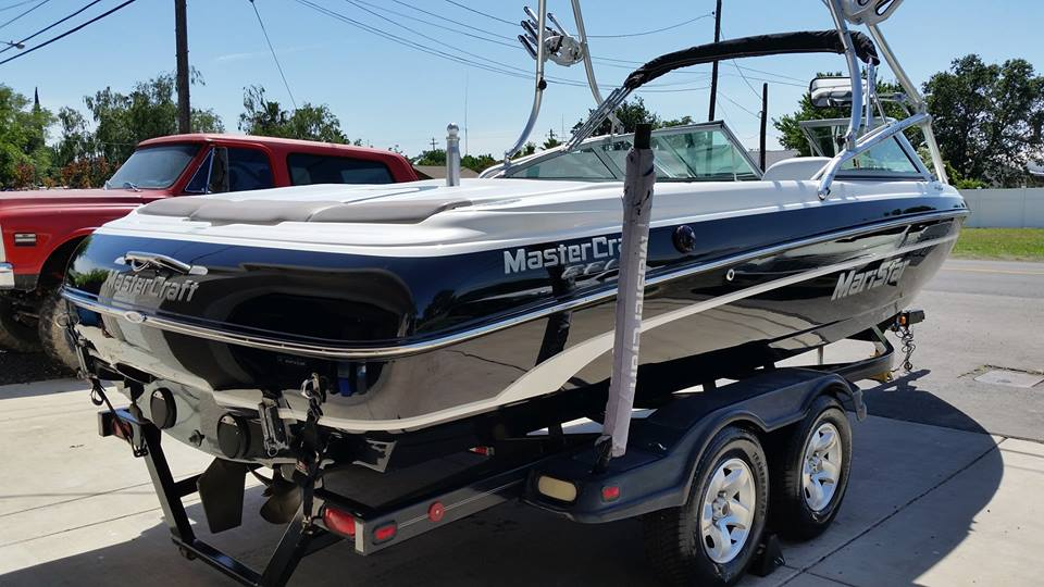 mastercraft full interior and exterior boat detail by detail pros in sutter